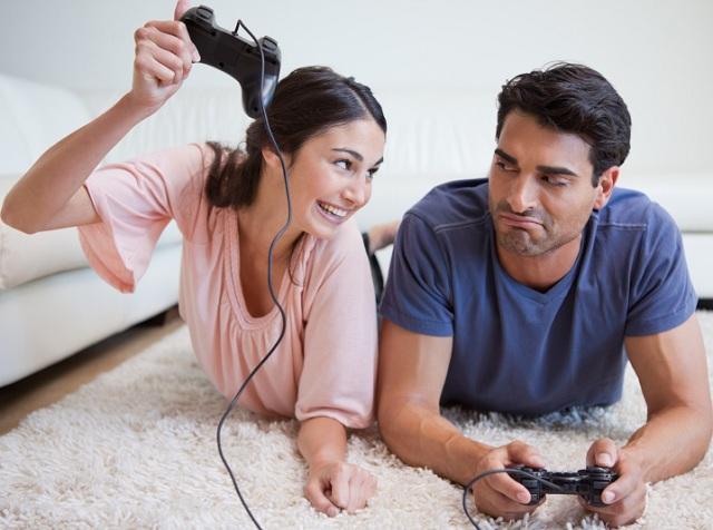 เล่นเกมกับแฟน